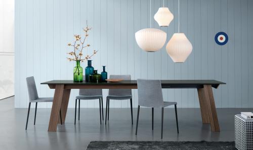 tavolo allungabile, tavolo legno, jesse, domus arredi lissone