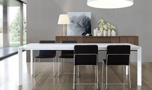 tavolo allungabile, jesse, domus arredi lissone, tavolo legno,