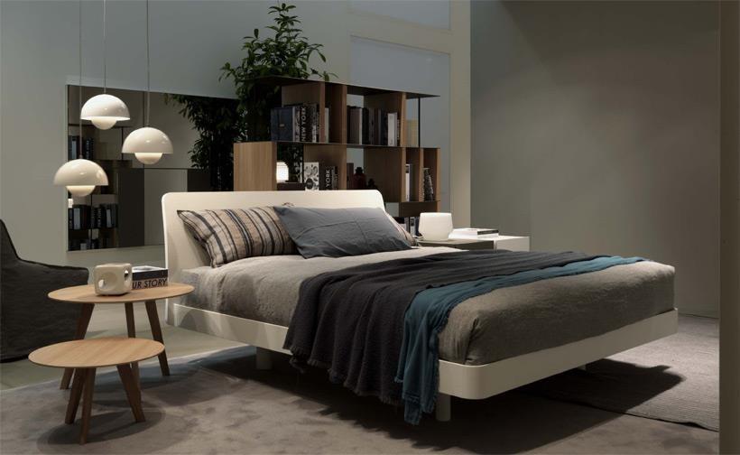 Il nuovo letto cleto di jesse elegante sobrio for Jesse arredamento