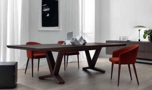 tavolo legno, tavolo, jesse, domus arredi lissone,