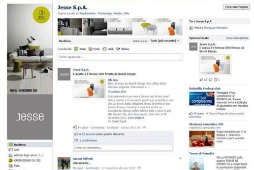 jesse, jesse mobili, jesse arredo, jesse arredamento, jesse facebook, jesse fb, jesse spa